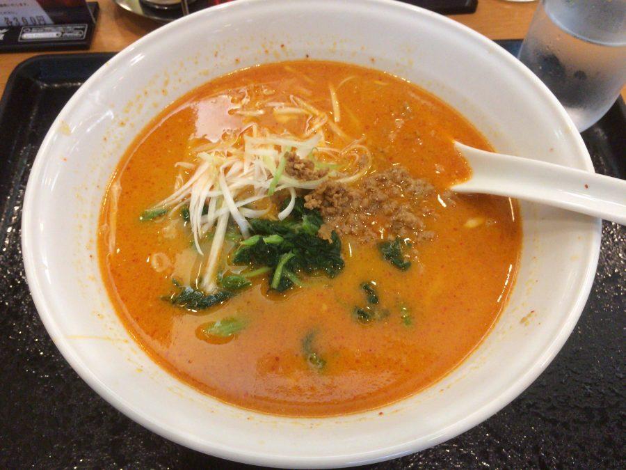 羽田ラーメンの担々麺