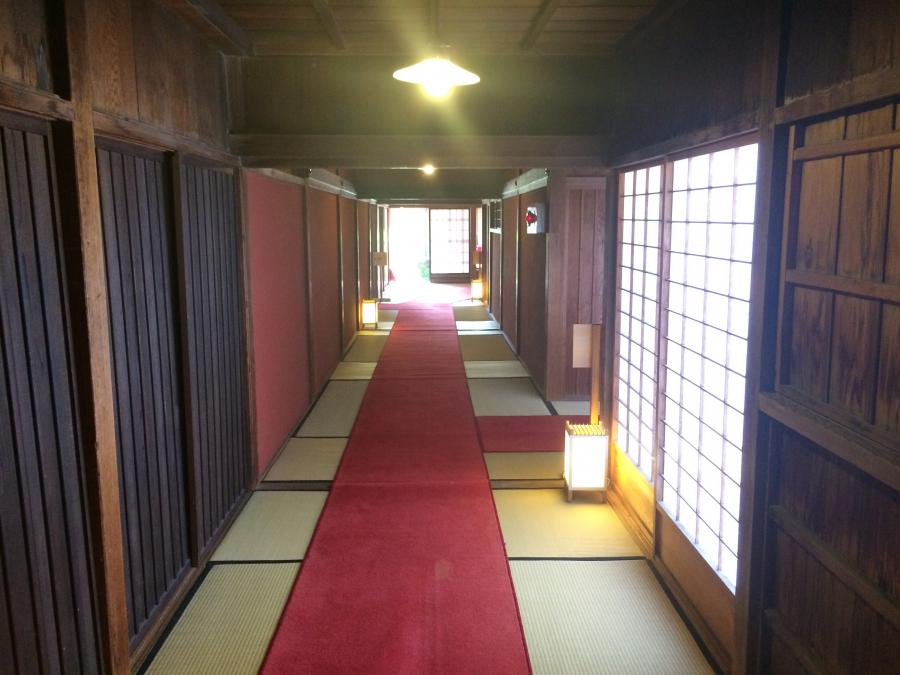 御殿の廊下