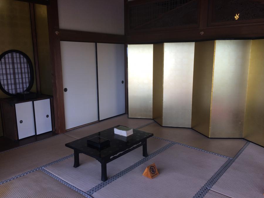 島津忠義が1日の大半を過ごした部屋
