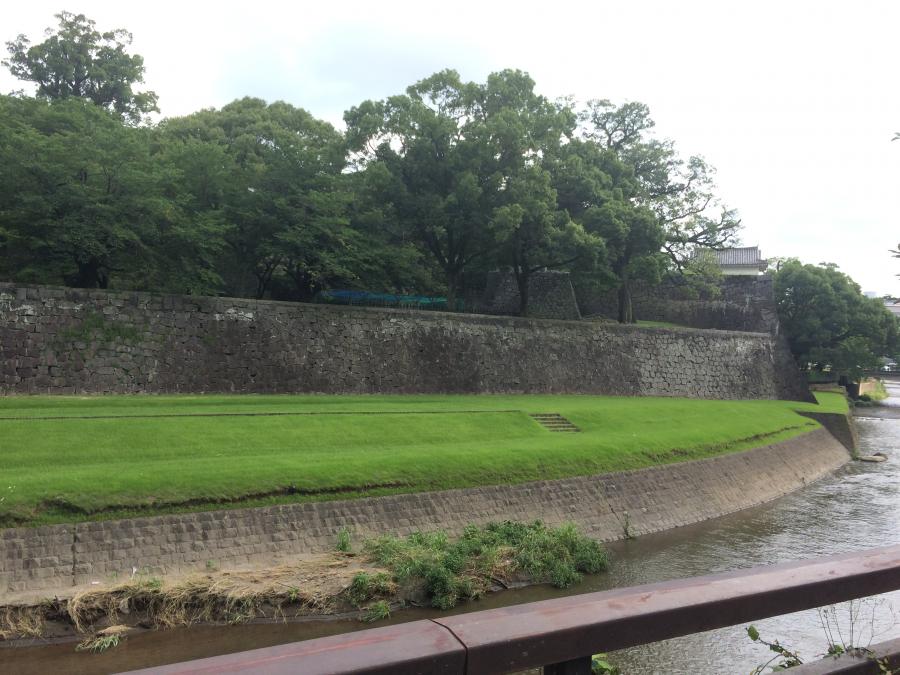 熊本城の国指定重要文化財「長塀」