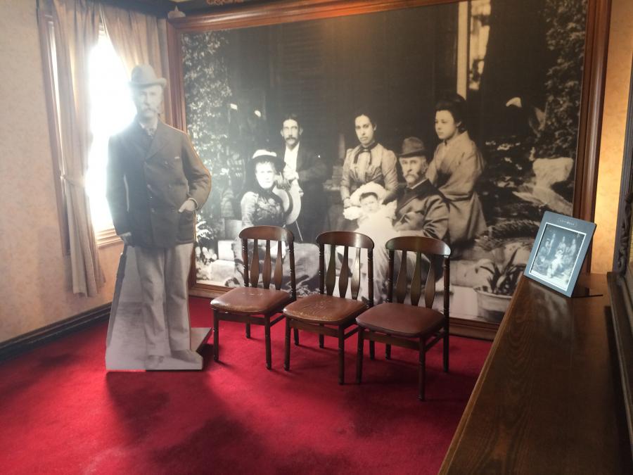 ウォーカーの家族写真