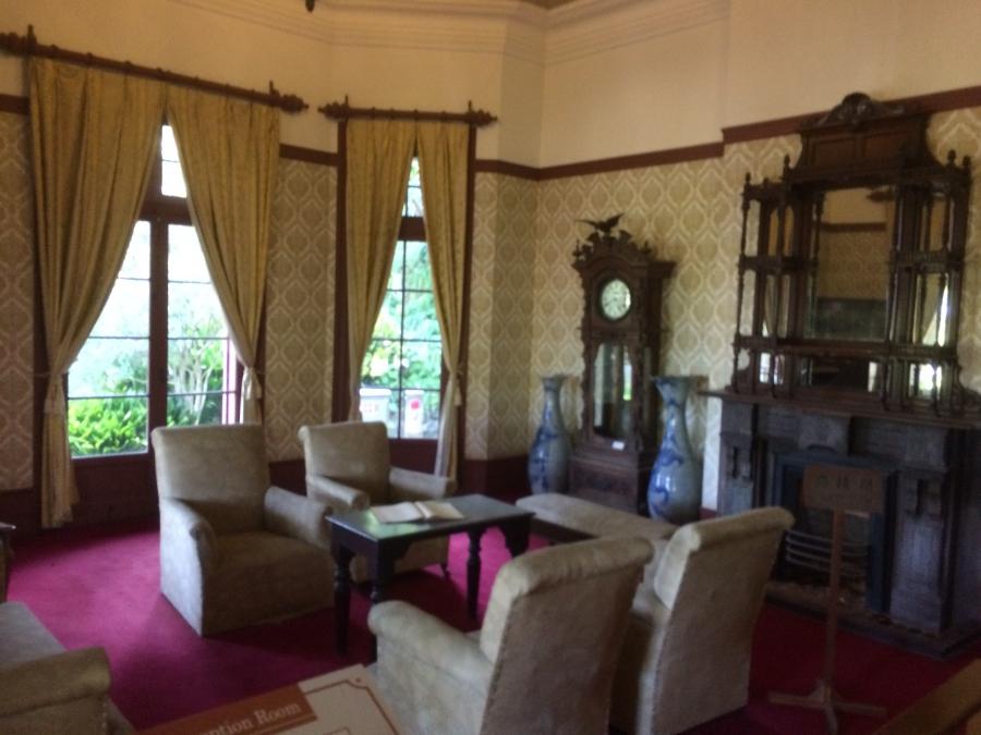旧オルト住宅の内装