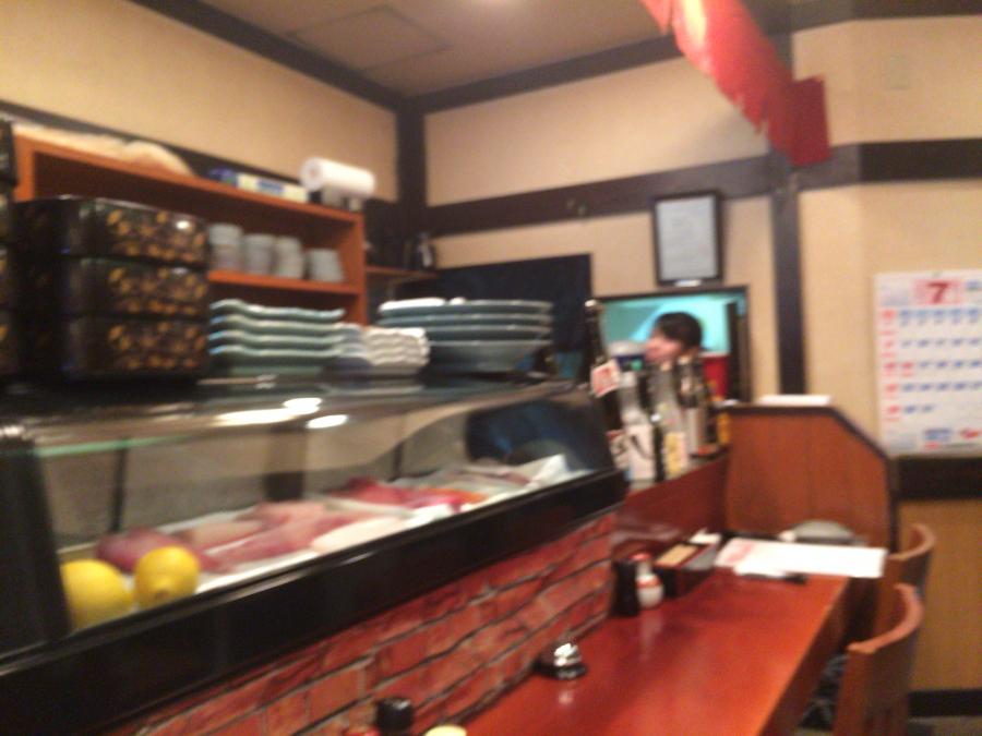 「海鮮市場長崎港」の長崎駅前店の店内