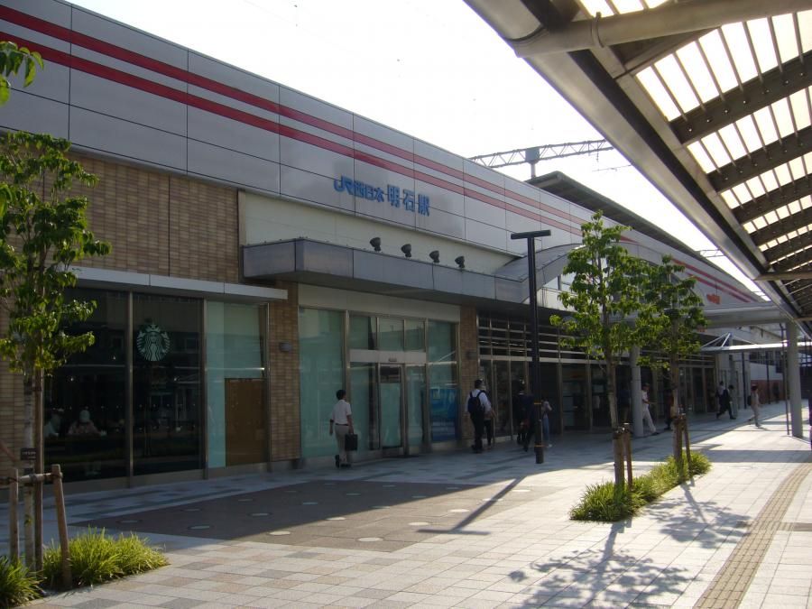 JR西日本明石駅の外観