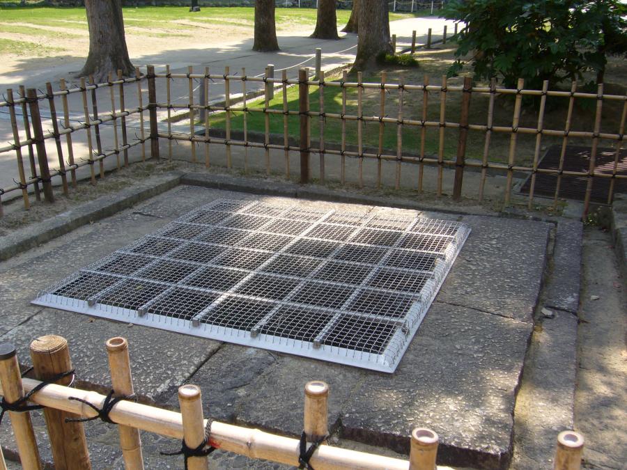 姫路城内の井戸