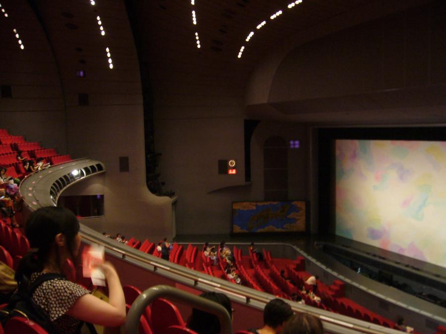 宝塚劇場の二階席(A席)