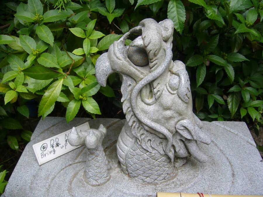 伏見神宝神社の祭神である龍頭