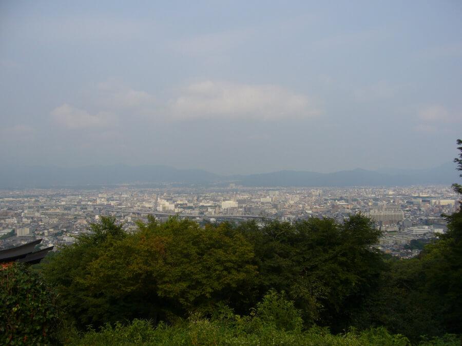稲荷山から見える景色
