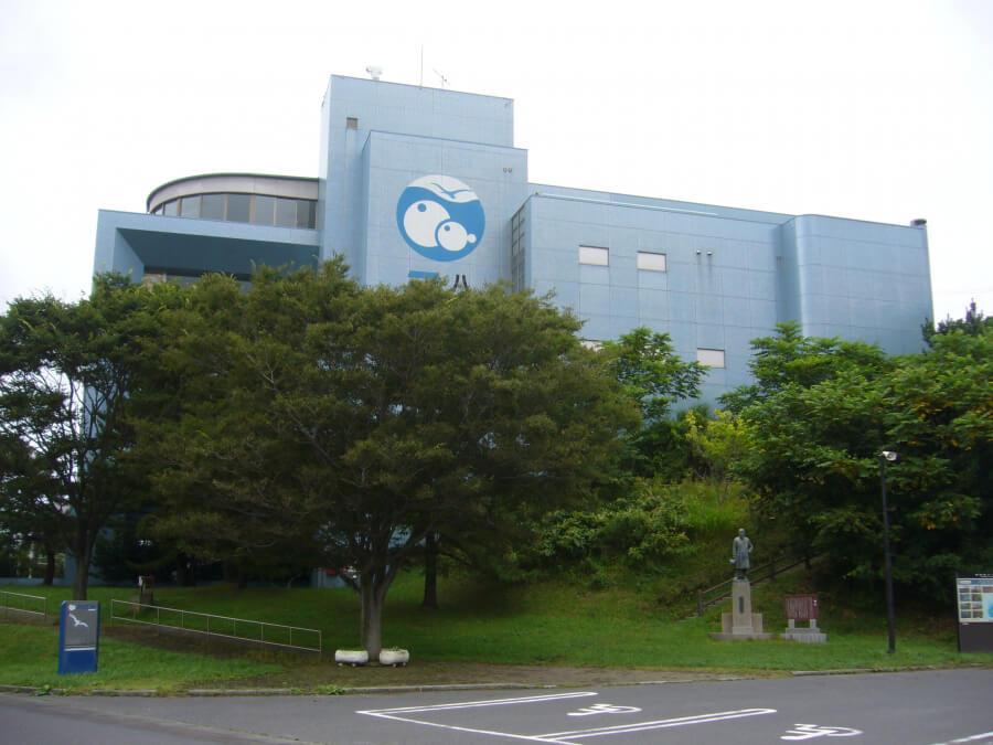 八戸市水産科学館マリエントの外観