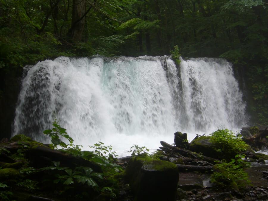 銚子大滝の人工滝