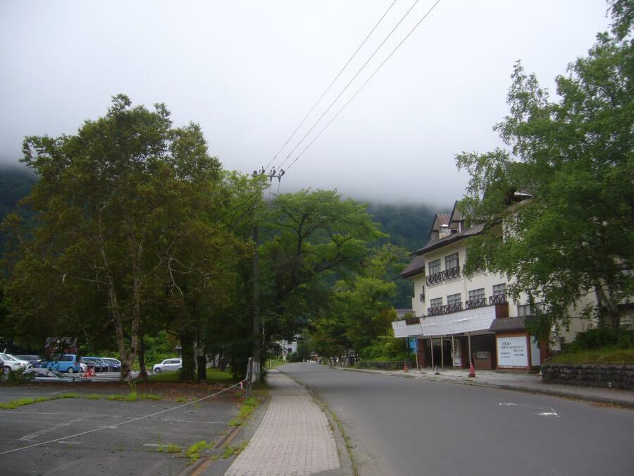 十和田湖の道