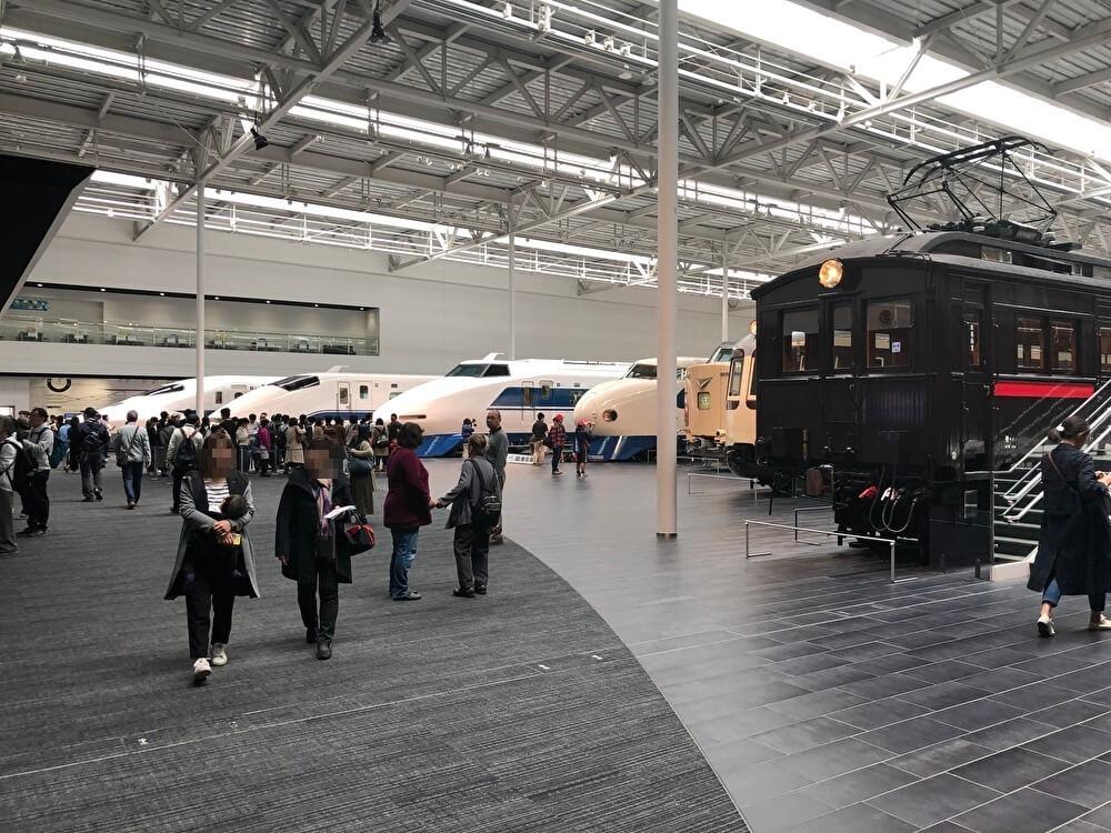 リニア・鉄道館の車両展示場