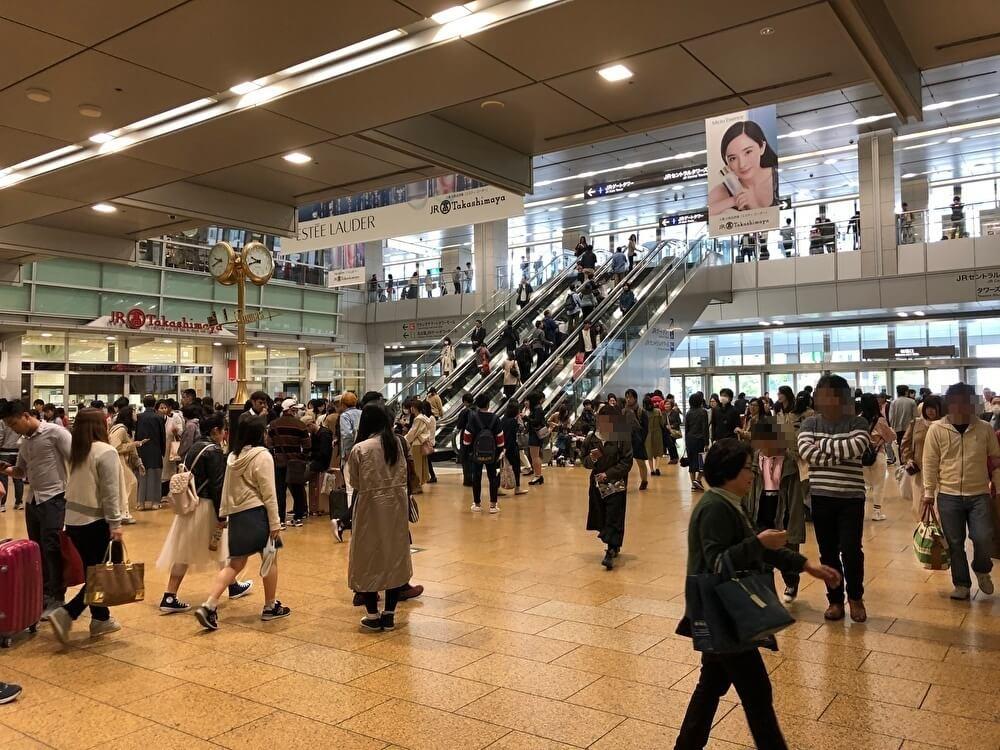 名古屋駅構内