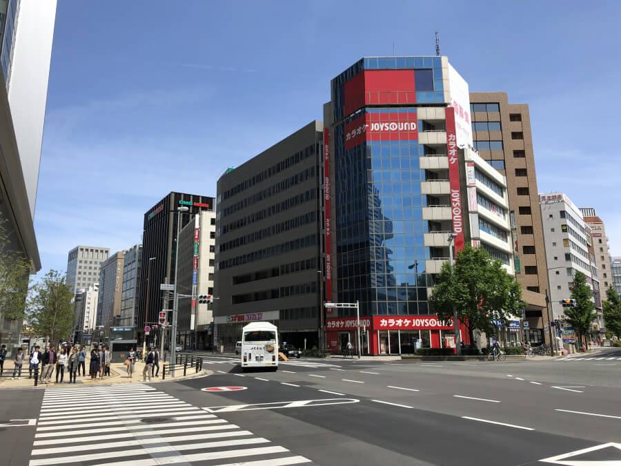 名古屋駅周辺の道路