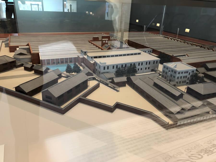 トヨタ工場の模型