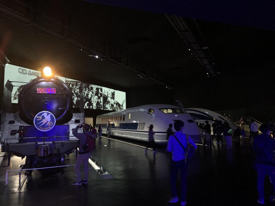 列車と映像|リニア・鉄道館