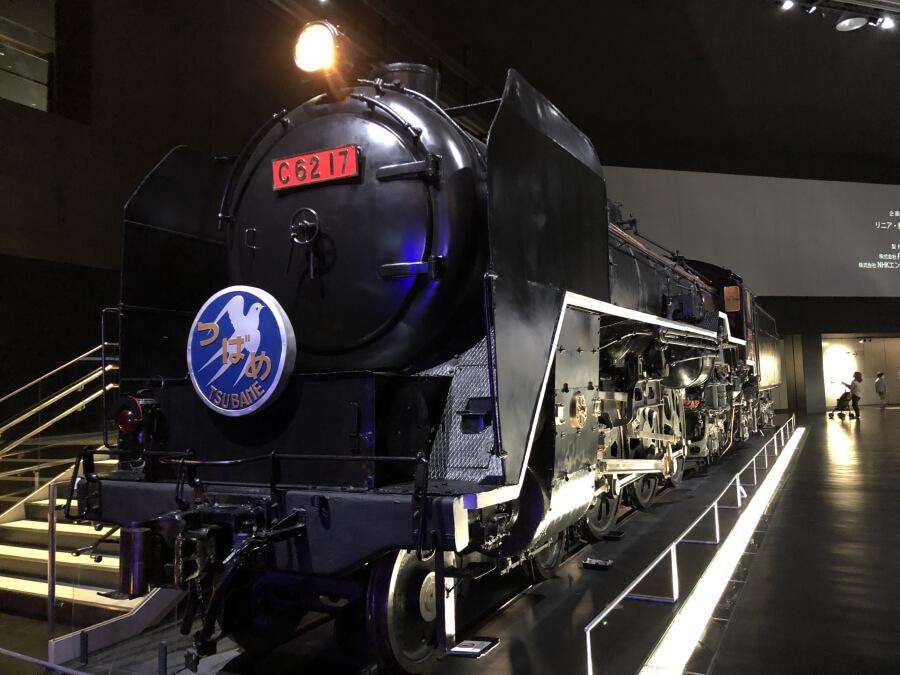 C62型式蒸気機関車