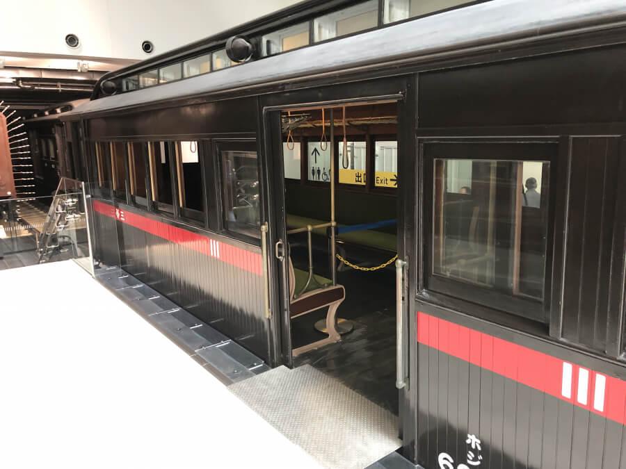 ホジ6005形式蒸気動車への入り口