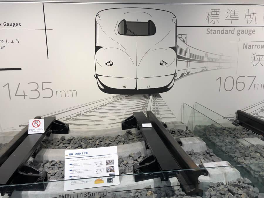 新幹線のレール幅