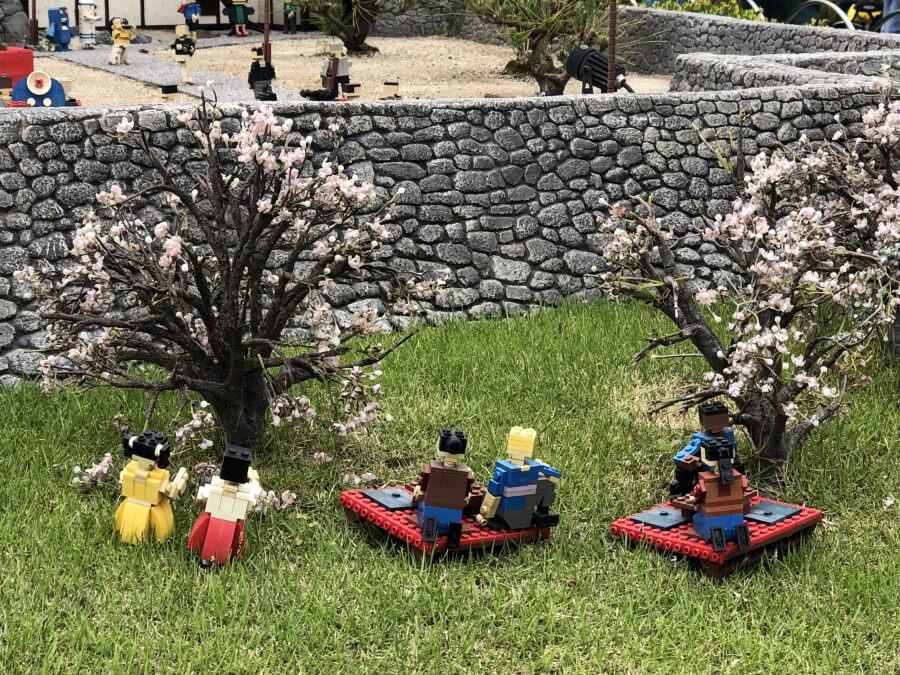 レゴの桜まつり