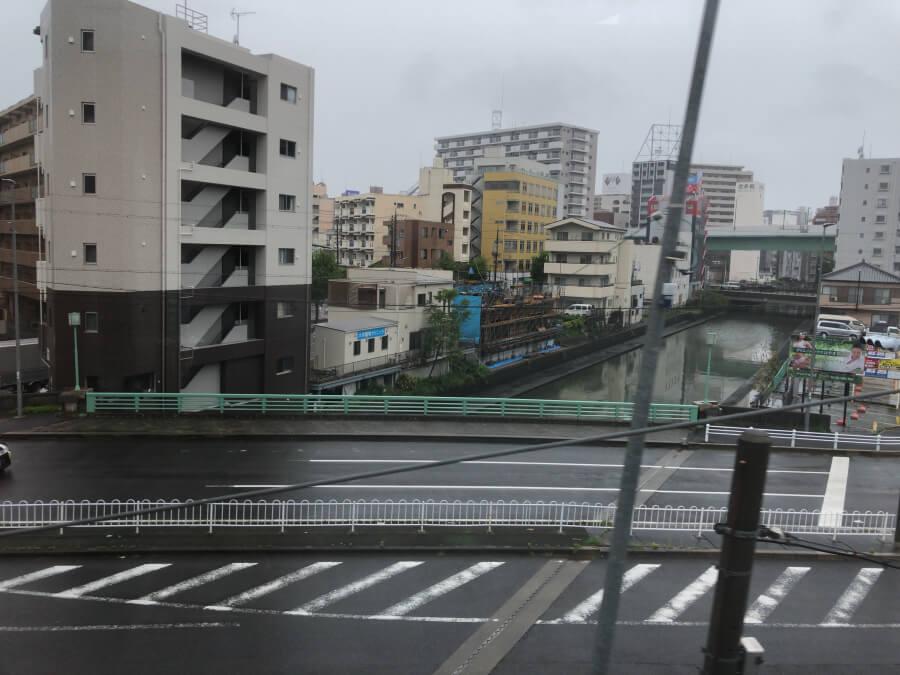 名古屋中央線の電車から眺めた風景