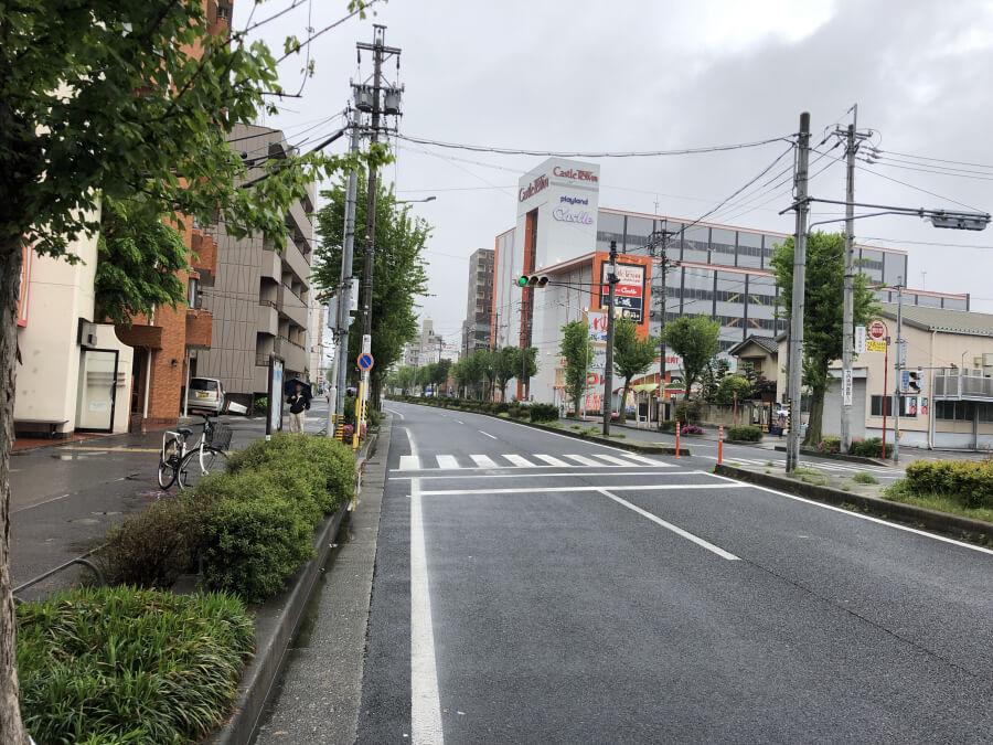 大曽根駅から徳川園までの道