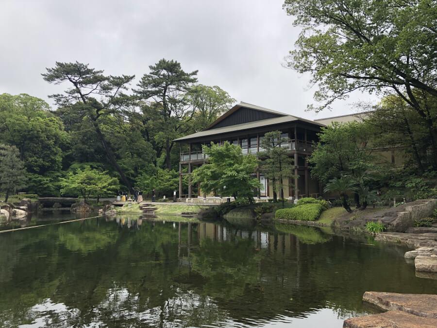 徳川園の観仙楼