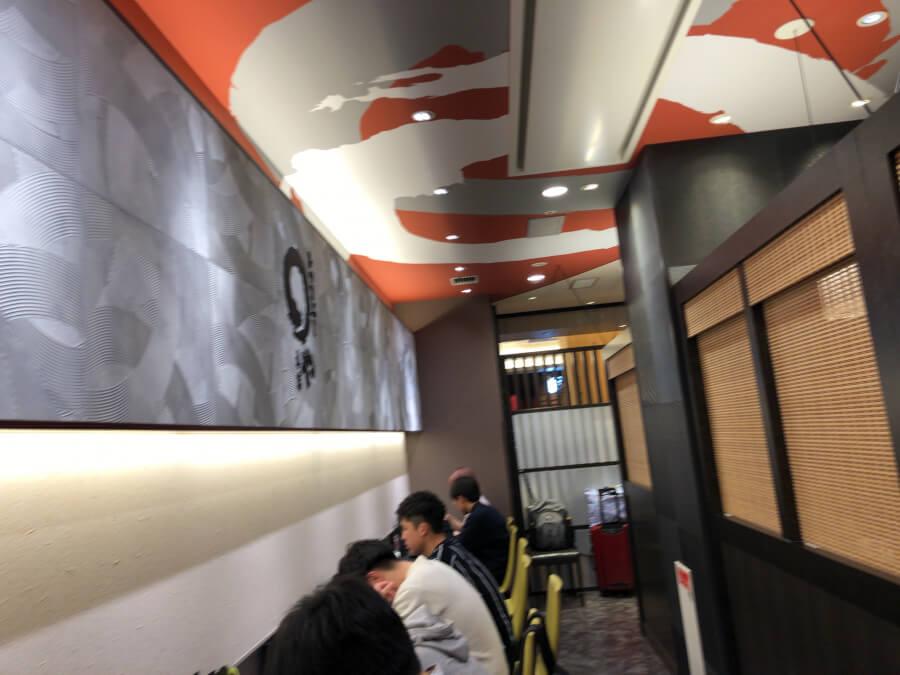 名古屋駅まるや本店の内観