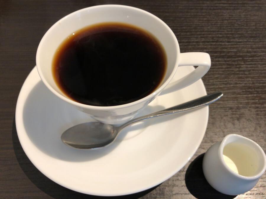 カフェつばきのコーヒー