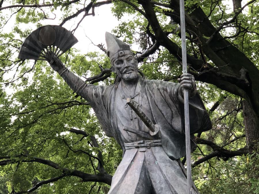 加藤清正の像