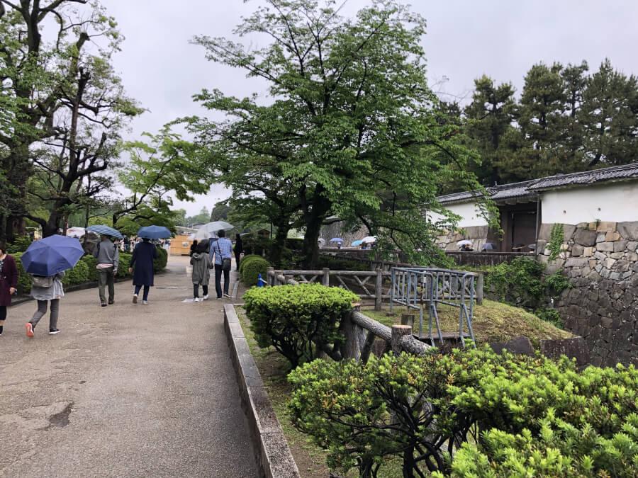 名古屋城の表二之門