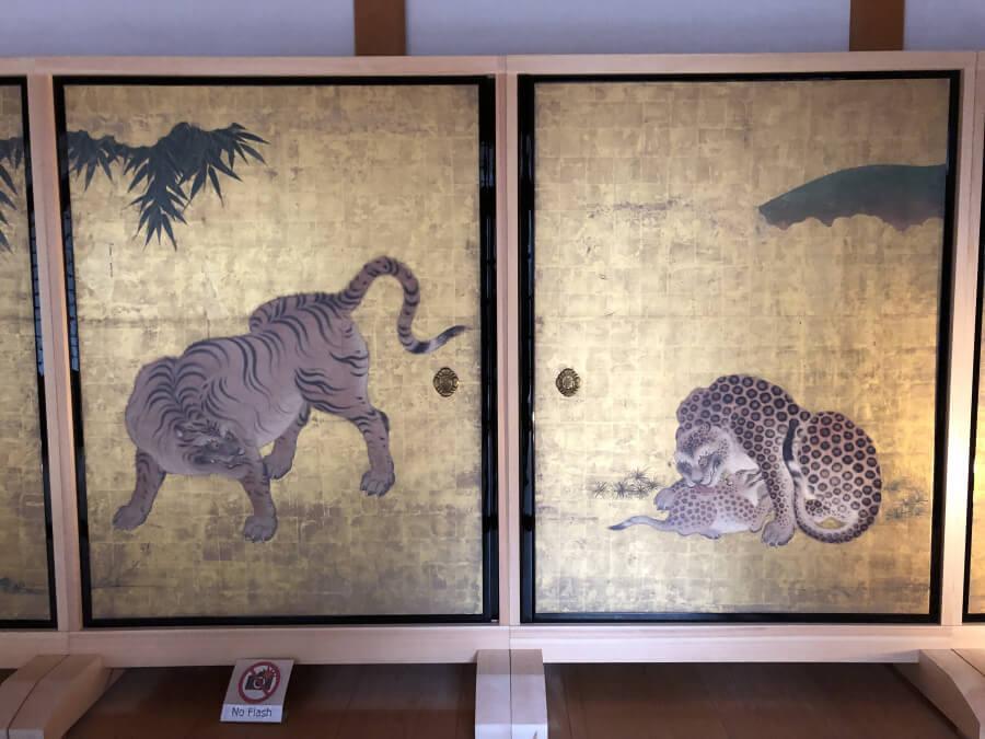 名古屋城本丸御殿の屏風