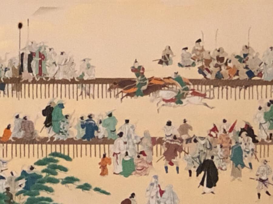 名古屋城本丸御殿の対面所の襖