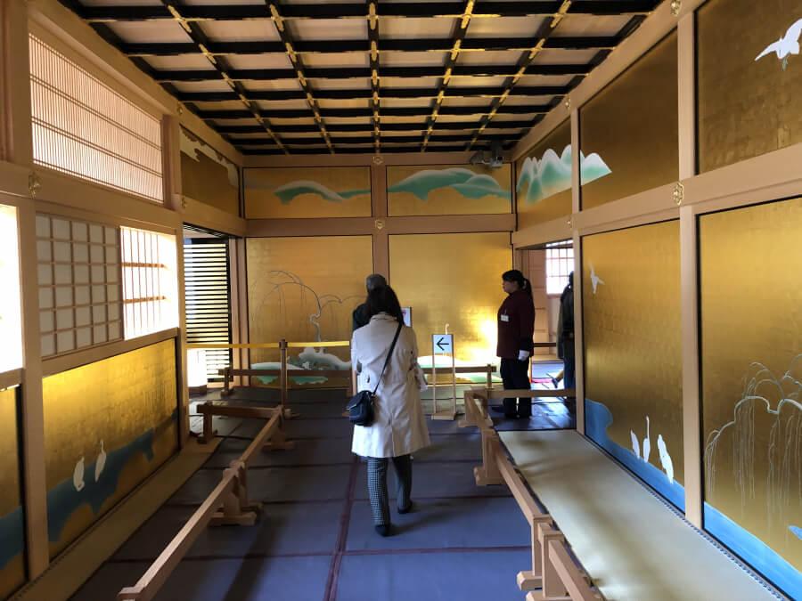 名古屋城本丸御殿の鷺之廊下