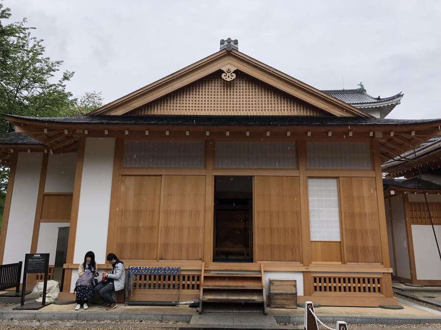 名古屋城の湯殿書院