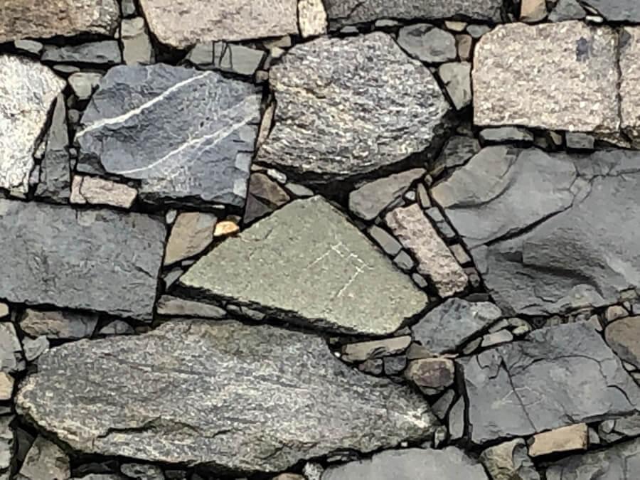 名古屋城の石垣の刻名