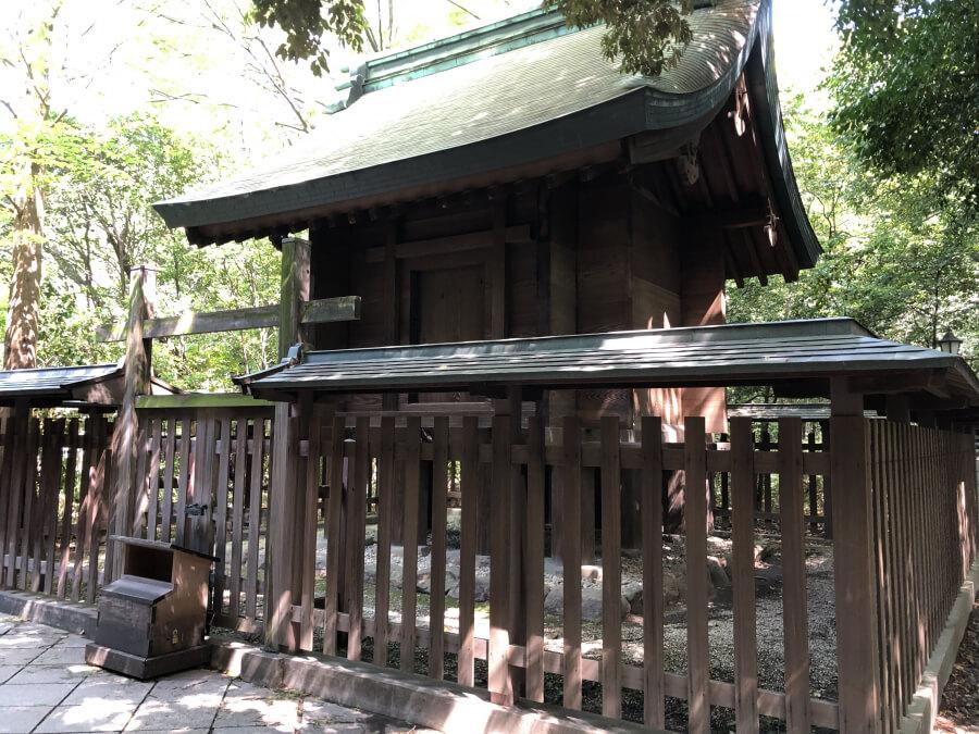 熱田神宮の土用殿