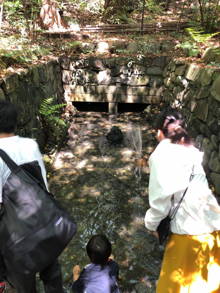 熱田神宮の清水社