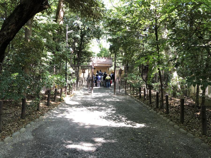 熱田神宮の 一之御前神社