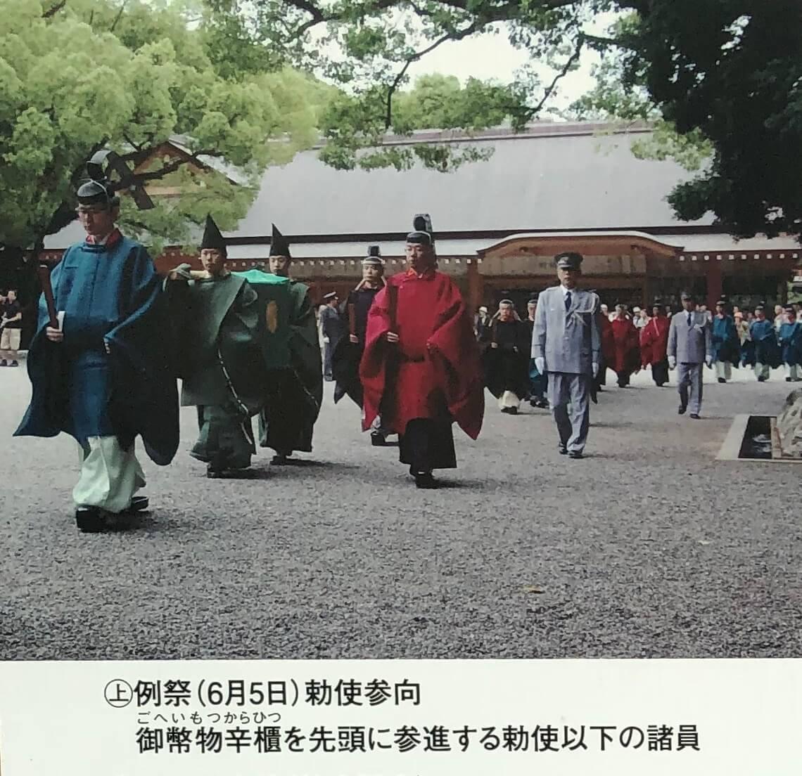 熱田神宮の勅使参向
