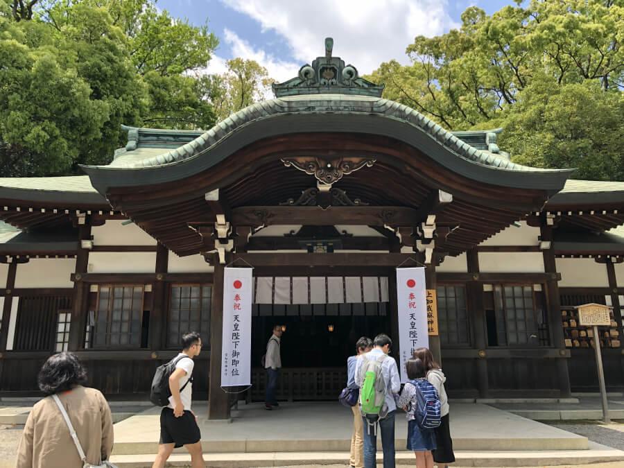 熱田神宮の上知我麻神社(かみちかまじんじゃ)