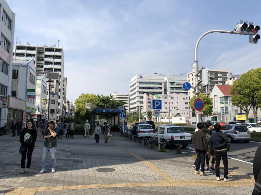 名古屋港駅の周辺