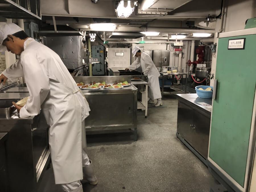 調理室|南極観測船ふじ