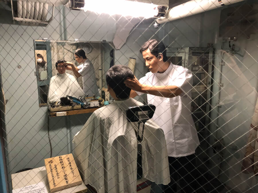 理髪室|南極観測船ふじ