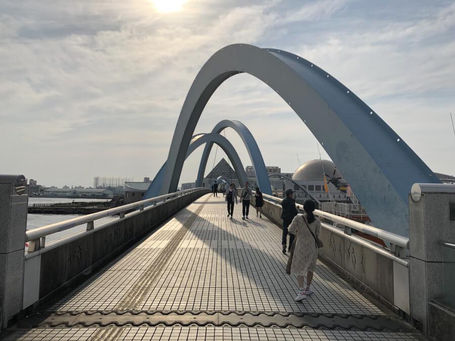 名古屋港のボートブリッジ