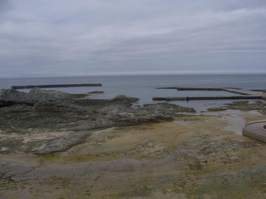 仏ヶ浦から見える海