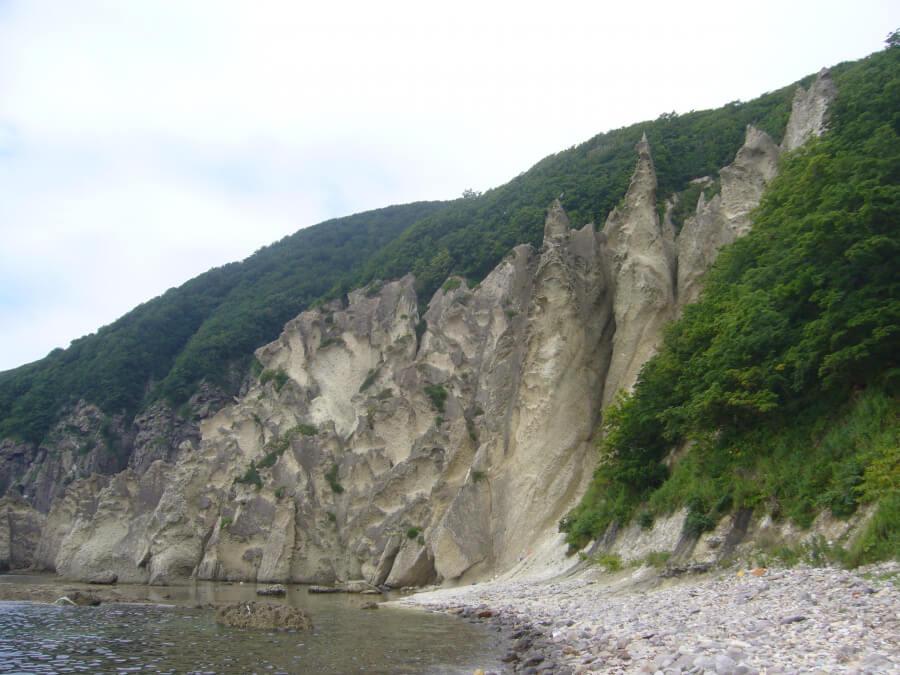 仏ヶ浦の岩