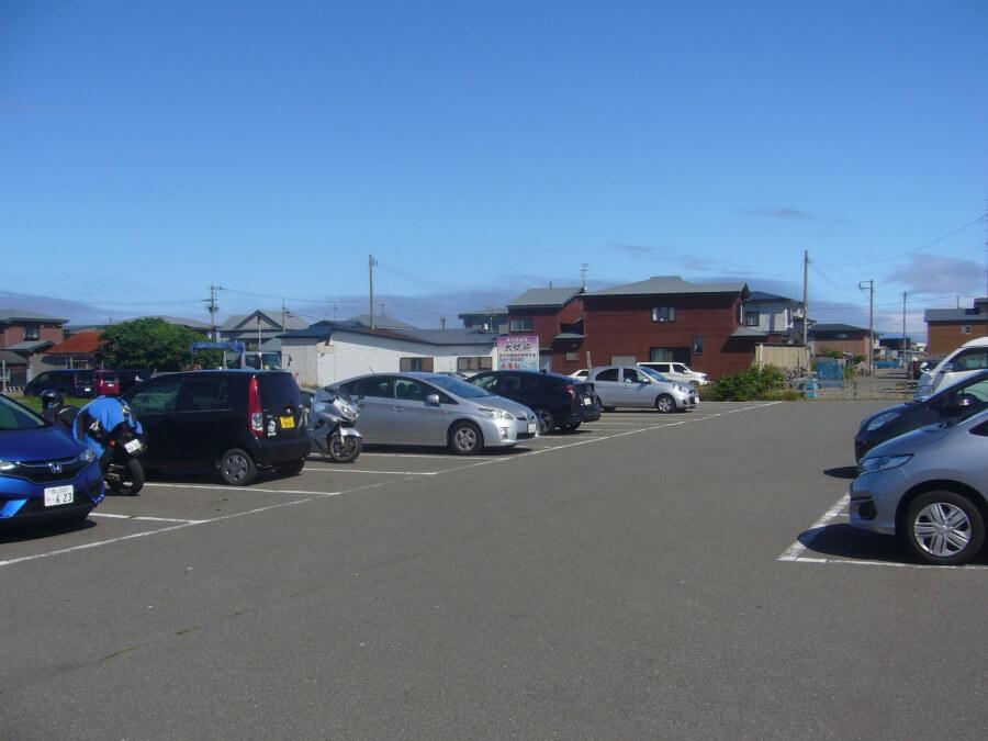 大間の駐車場