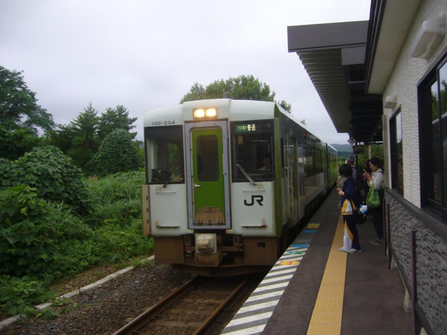 大湊線の電車