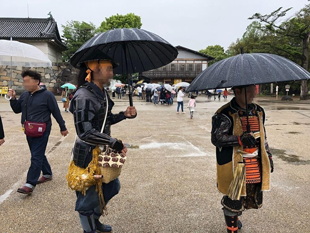名古屋城の武将